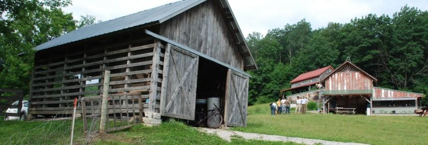 Barn at Dream Acres Farm